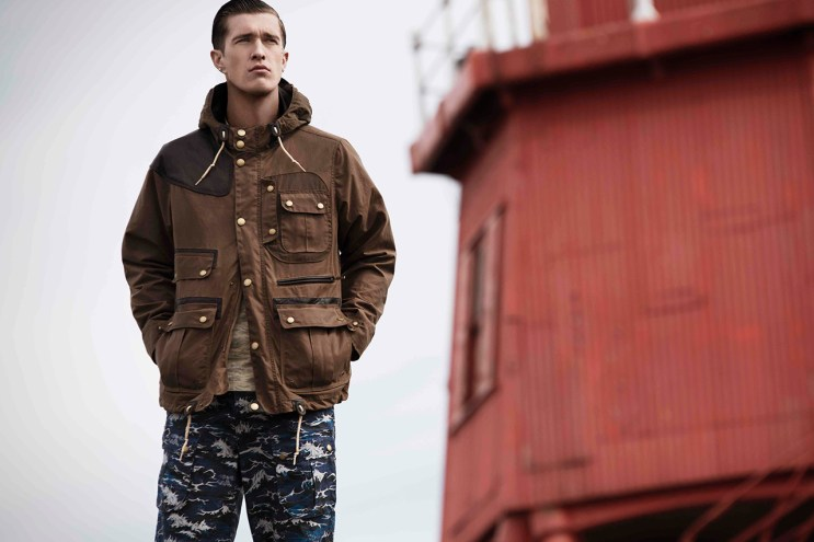 Barbour x White Mountaineering Teaser