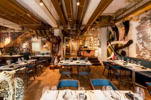 BIBO Restaurant in Hong Kong Features Installations by Street Art Legends