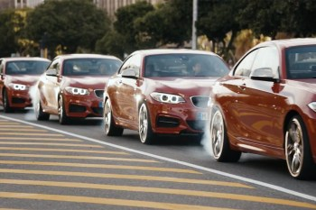 """BMW Presents """"The Epic Driftmob"""" featuring the M235i"""