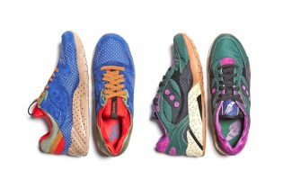 "Bodega x Saucony 2014 Summer ""Polka Dot"" Pack Preview"