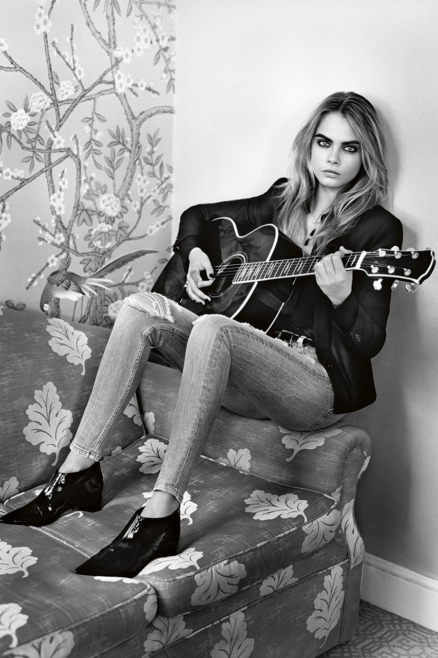 cara delevingne stars in topshops 2014 fall winter campaign