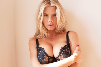 Charlotte McKinney Visits Terry Richardson's Studio