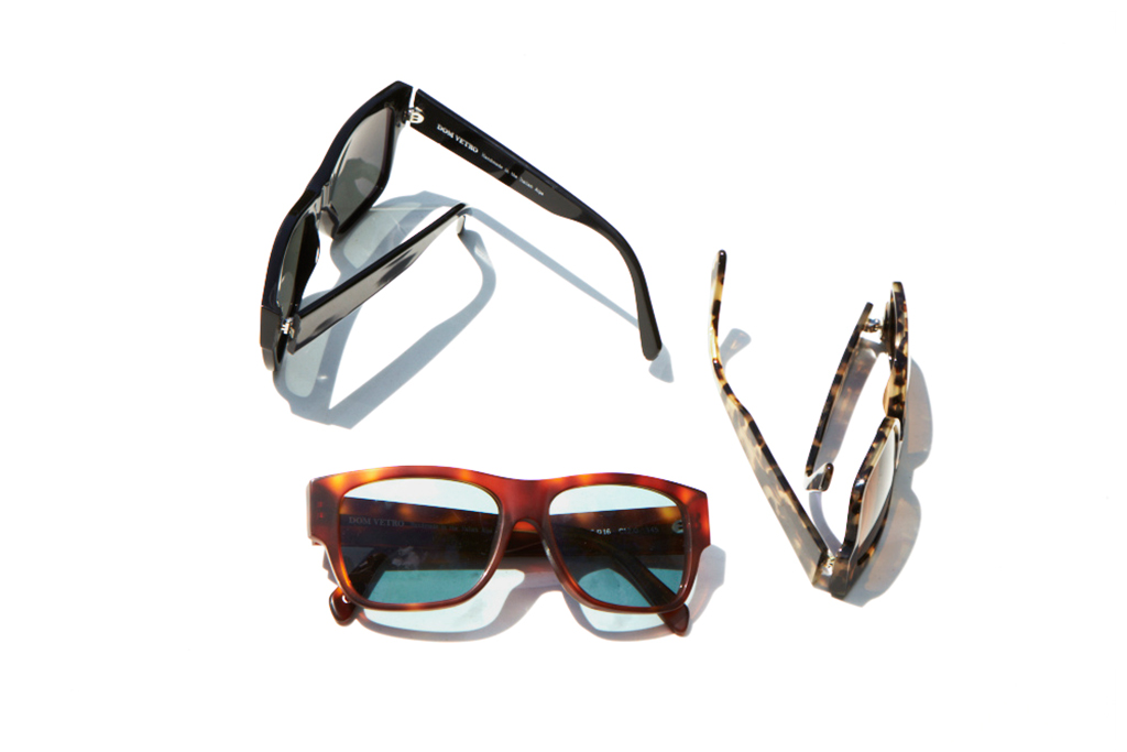 club monaco x dom vetro arpetto sunglasses