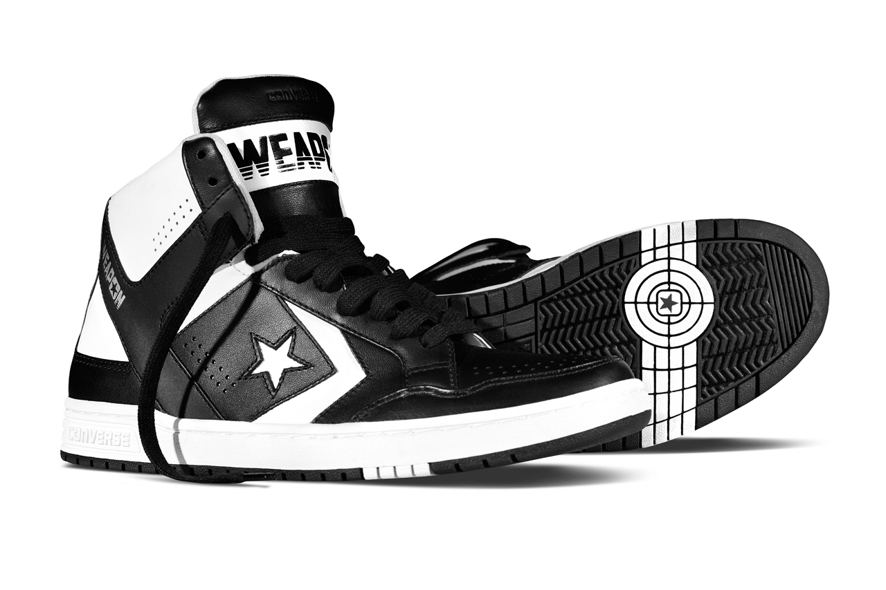 Converse Fall/Winter 2014 CONS Weapon Black/White