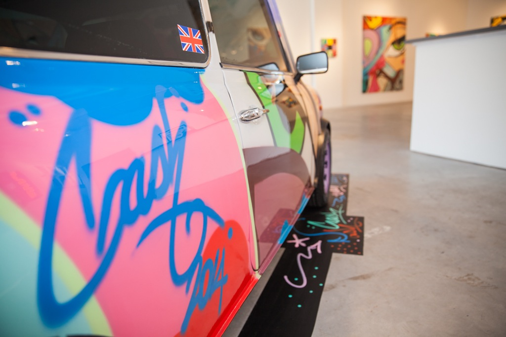 "CRASH ""Broken English"" Exhibition @ Jonathan LeVine Gallery Recap"