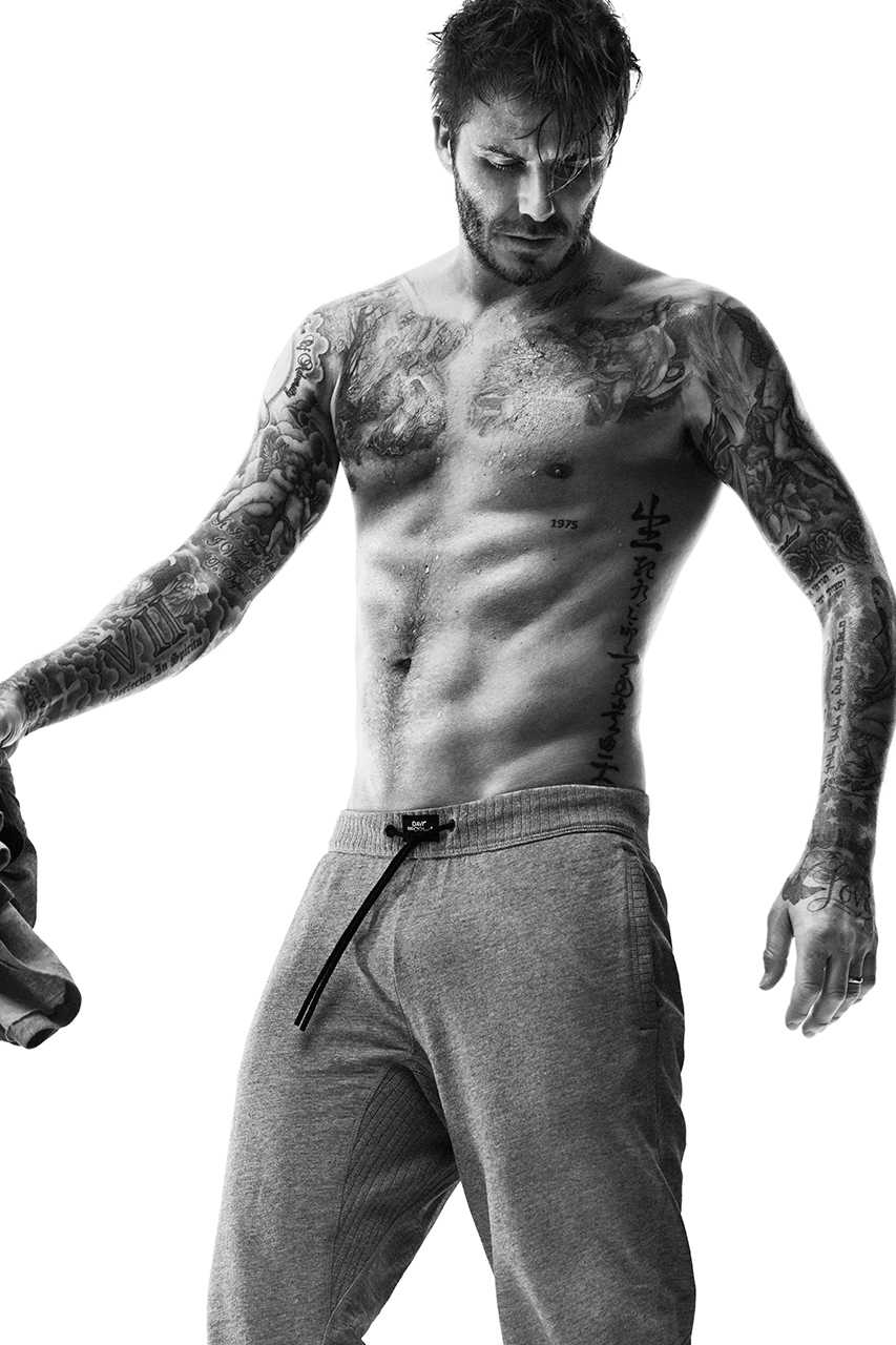 David Beckham for H&M 2014 Fall Bodywear Collection