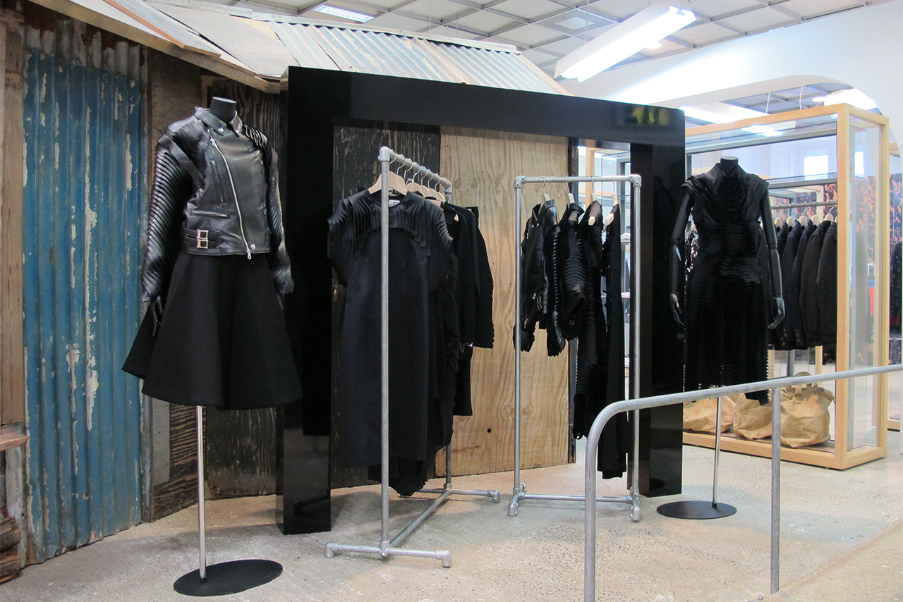 Dover Street Market: Tachiagari for 2014 Fall/Winter
