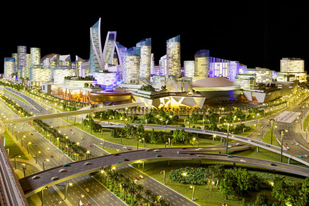 Dubai to Build the World's First Temperature Controlled City