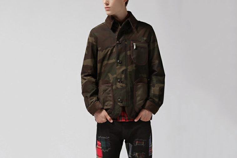eYe Junya Watanabe MAN x The North Face Camouflage Jacket
