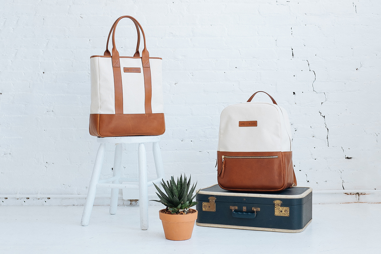 frank clegg x aime leon dore 2014 summer bag collection