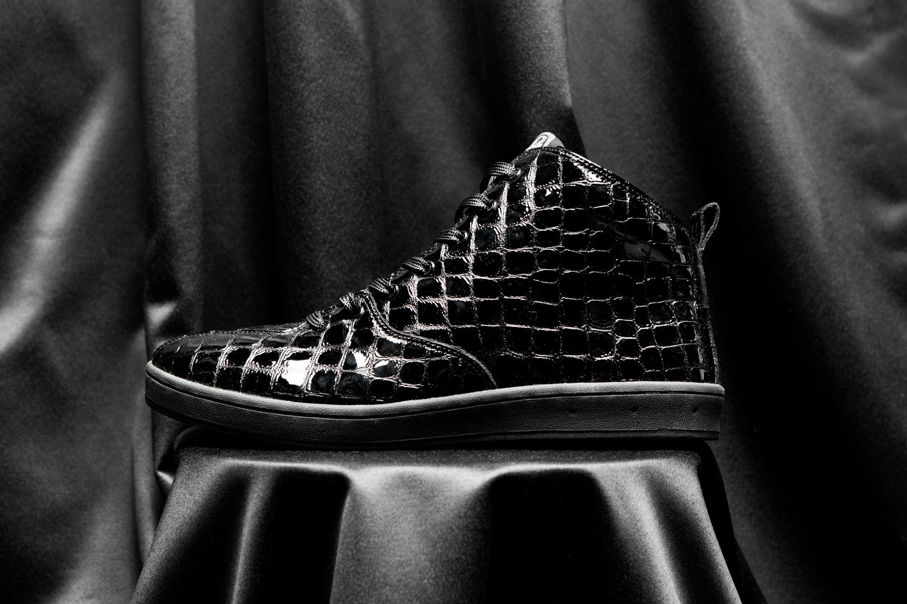 gourmet 2014 fall winter black croc quattro skate 2 sneakers