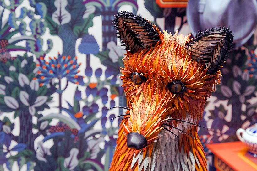 hermes foxs den window installation by zim zou