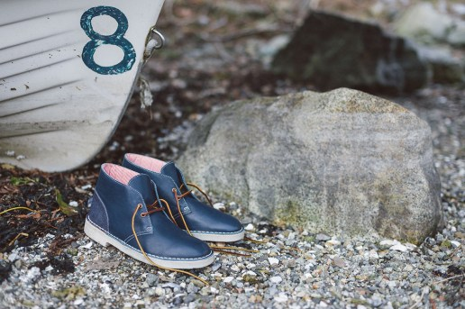 Herschel Supply Co. x Clarks Originals 2014 Fall/Winter Desert Boot