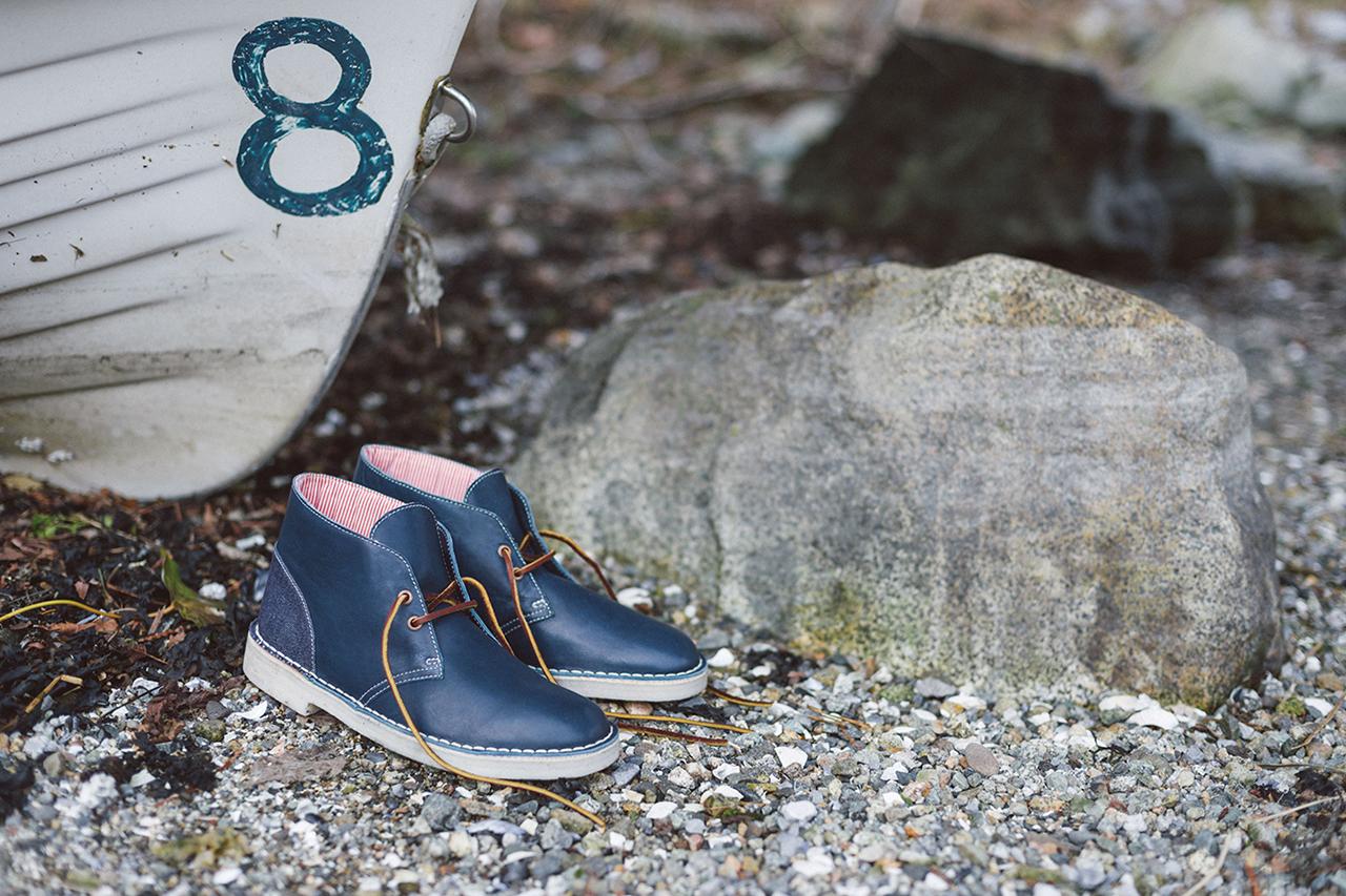 Herschel Supply Co. x Clarks Originals 2014 Fall/Winter Desert Boot