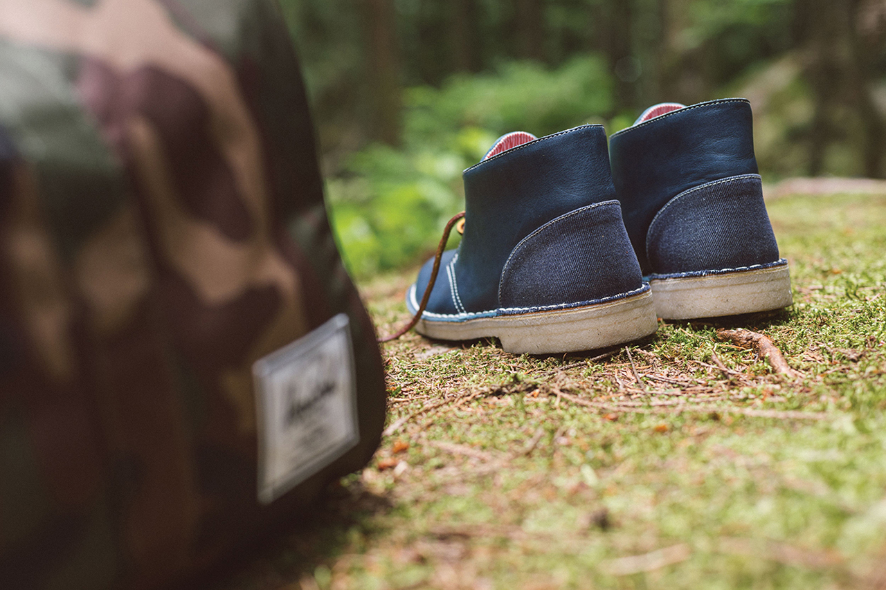 herschel supply co x clarks originals 2014 fall winter desert boot