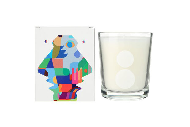 hiro sugiyama x colette divin mimosa candle