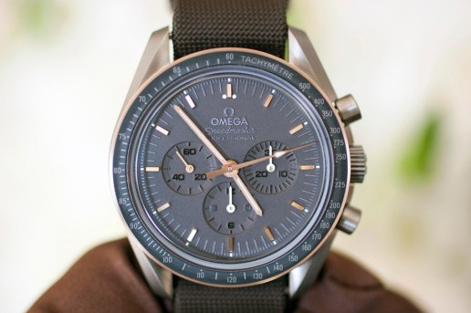 HODINKEE Takes a Closer Look at the Omega Speedmaster Apollo 11 45th Anniversary Limited Edition