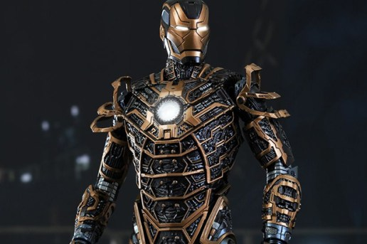 Hot Toys Iron Man 3 MARK XLI 1/6 Scale Collectible Figure