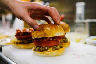 "HYPEBEAST Eats: The ""Pharrell Burger"" at NIGO's 2-5 Café"