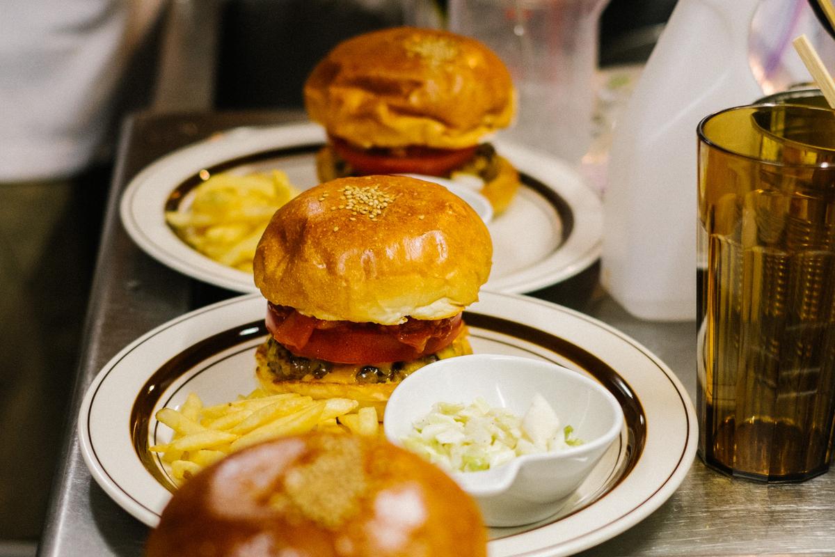 "HYPEBEAST Eats: The ""Pharrell Burger"" at NIGO's 2-5 Café"