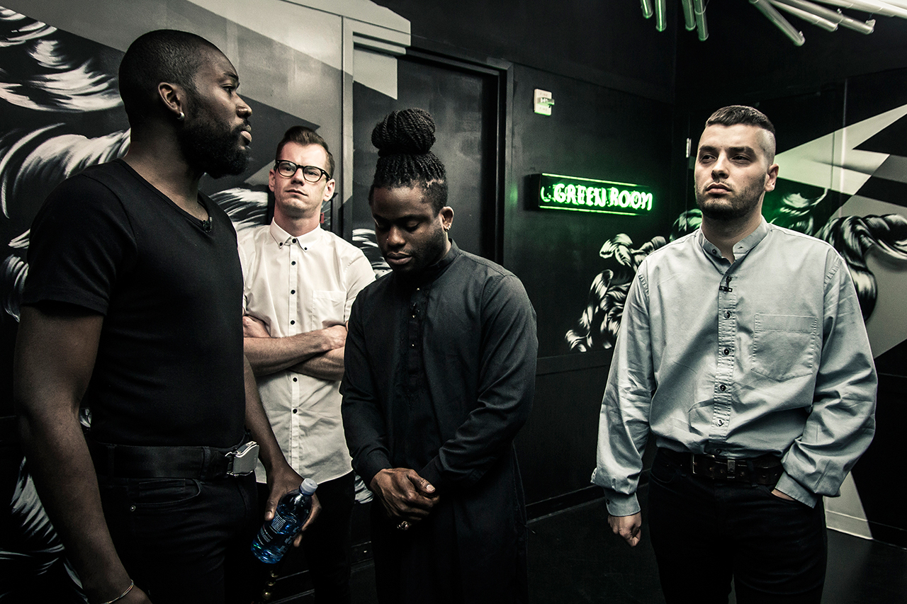 HYPETRAK Presents #OnTheClock with Young Fathers