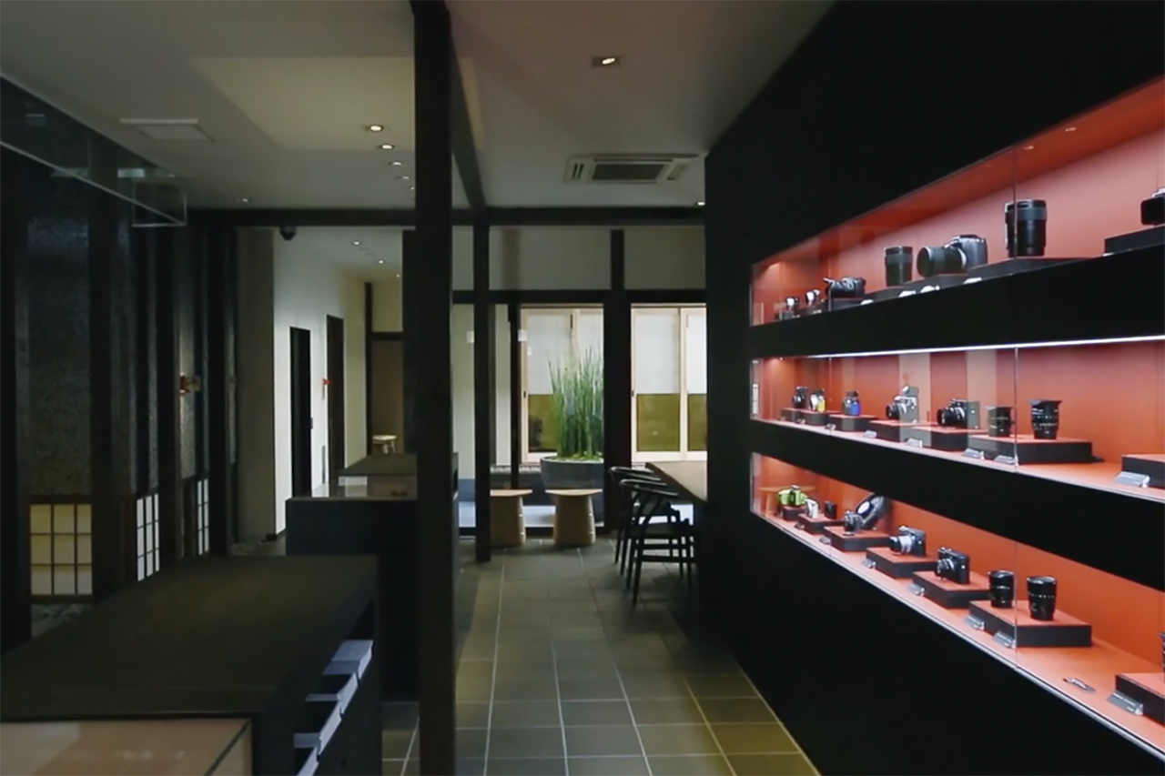 Inside Leica's Kyoto Store
