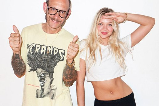 Jessie Andrews visits Terry Richardson