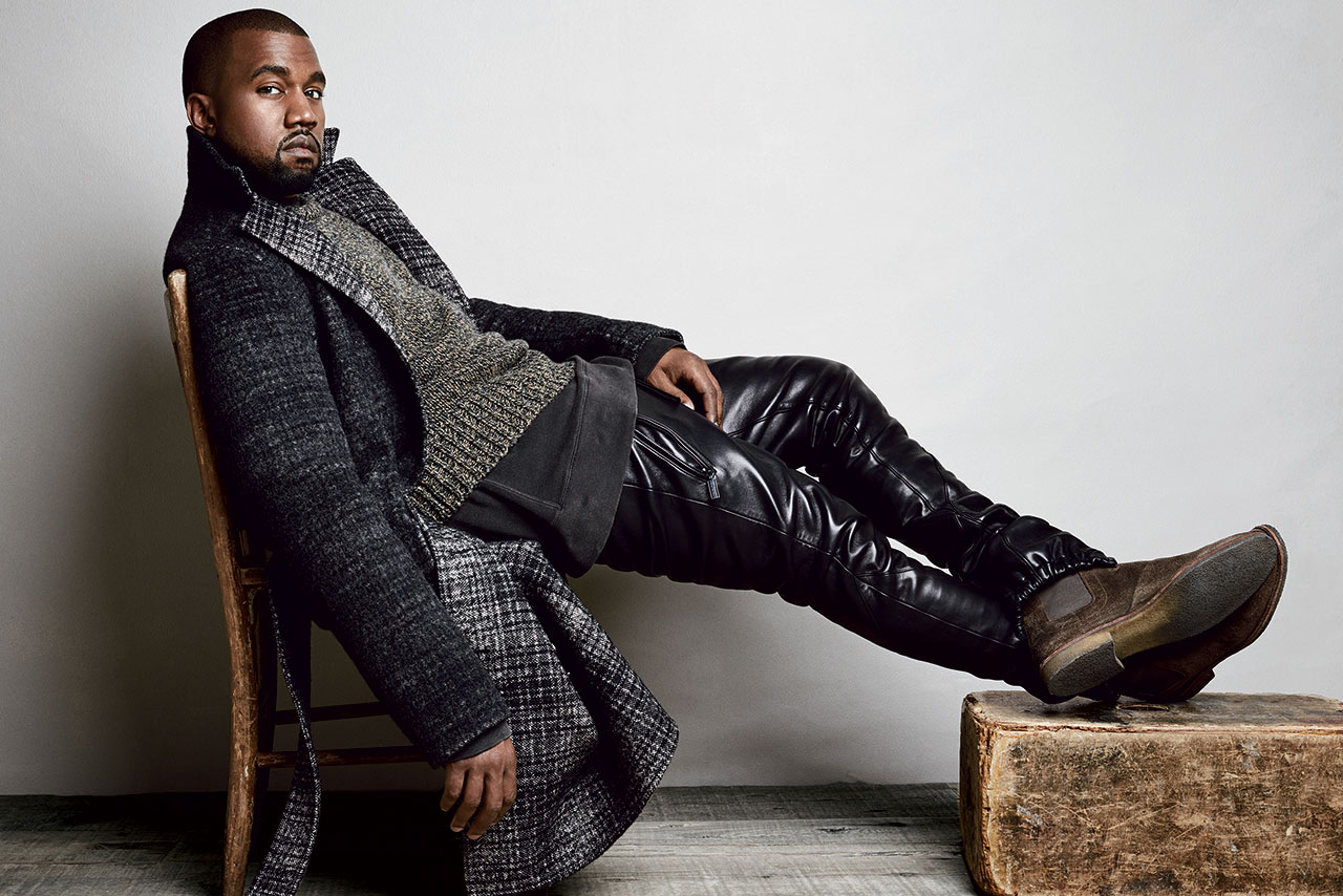 kanye west talks adidas fashion and his upcoming record