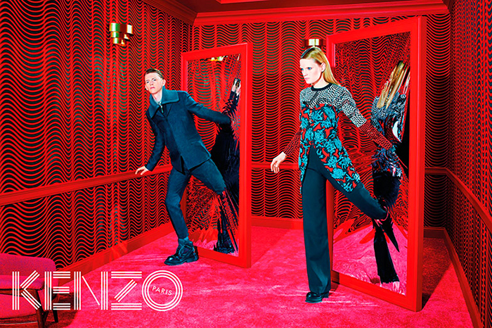 kenzo 2014 fall winter campaign by toiletpaper