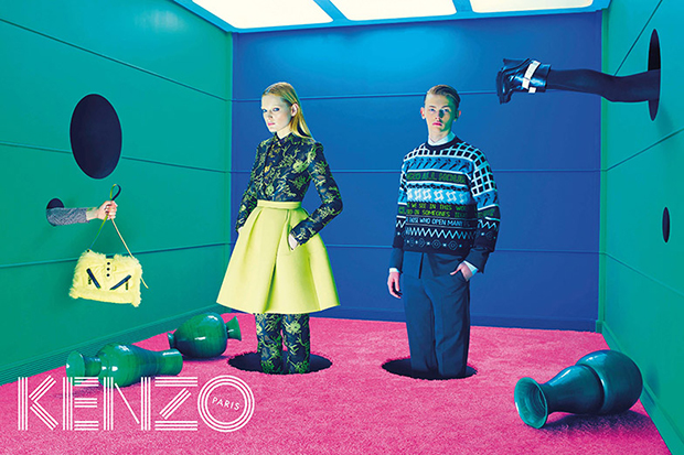 KENZO 2014 Fall/Winter Campaign Preview
