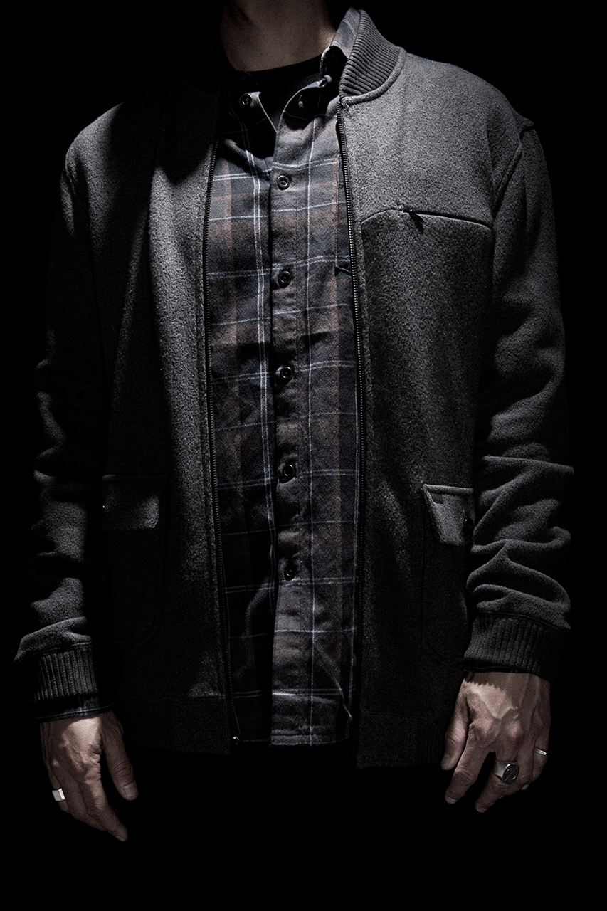 kr3w fall winter 2014 lookbook dark washes and shadowy plaid