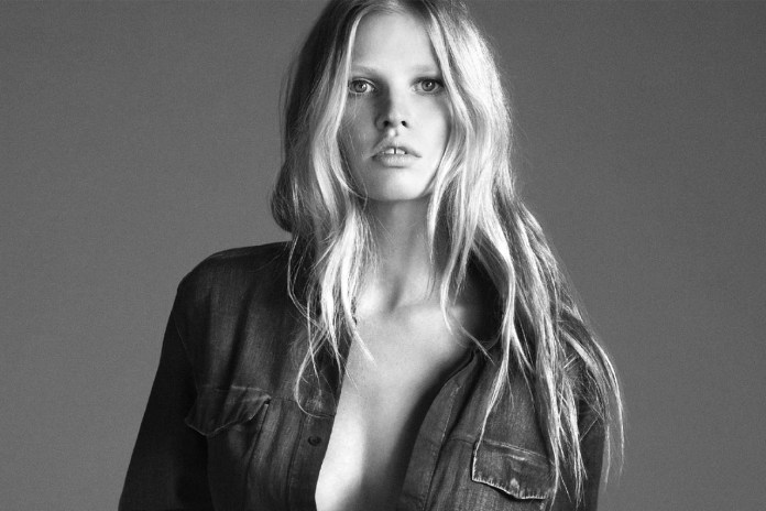 Lara Stone by Mert & Marcus for the Calvin Klein 2014 Fall Campaign