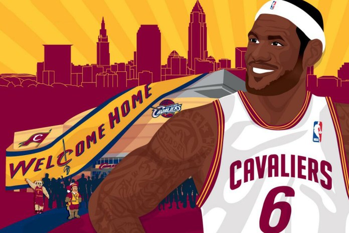 LeBron James is Returning to Cleveland