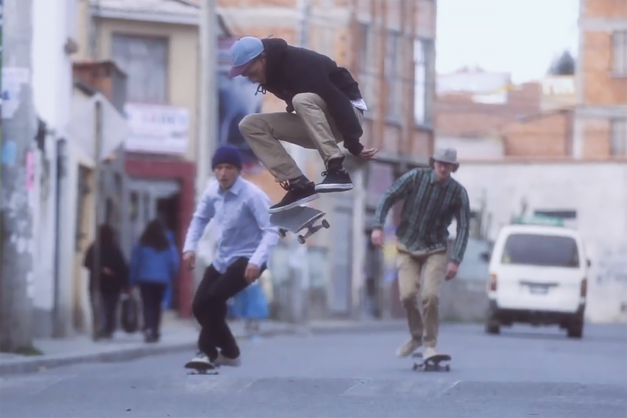 "Levi's Skateboarding Presents ""Skateboarding in La Paz"""