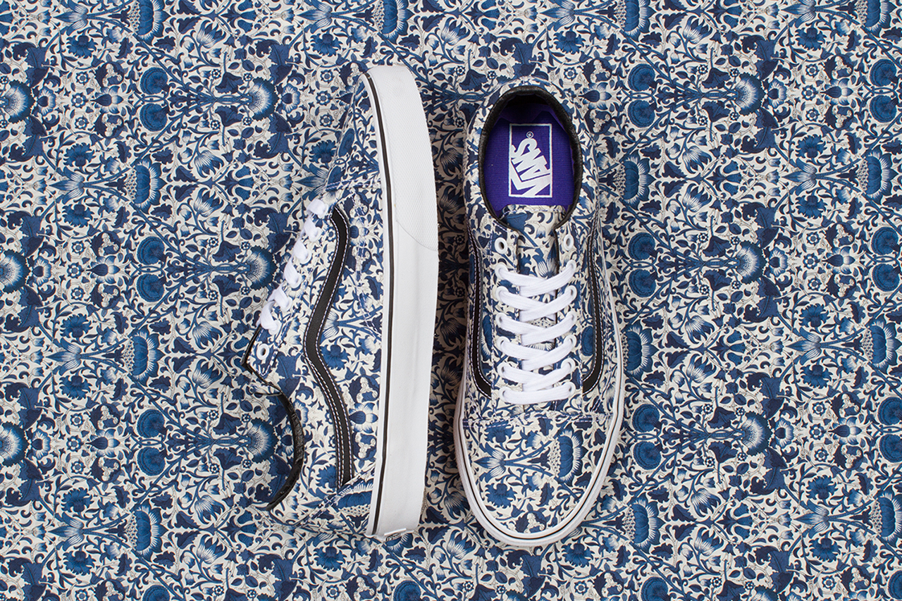 Liberty Art Fabrics x Vans 2014 Fall Collection