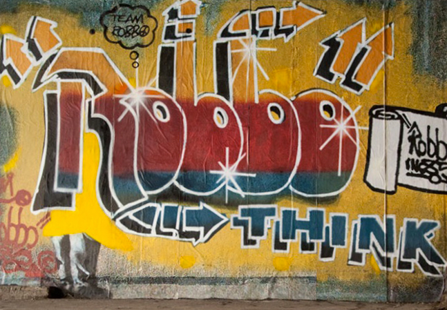 London Grafitti Legend King Robbo Has Passed Away