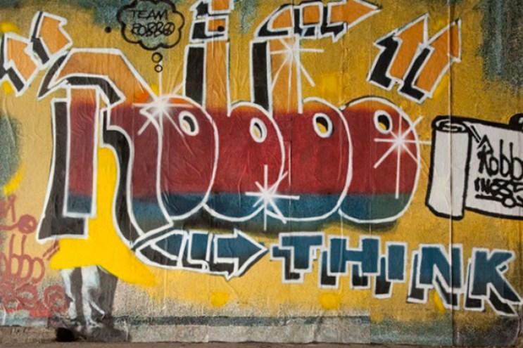 London Grafitti Legend King Robbo Has Passed Away