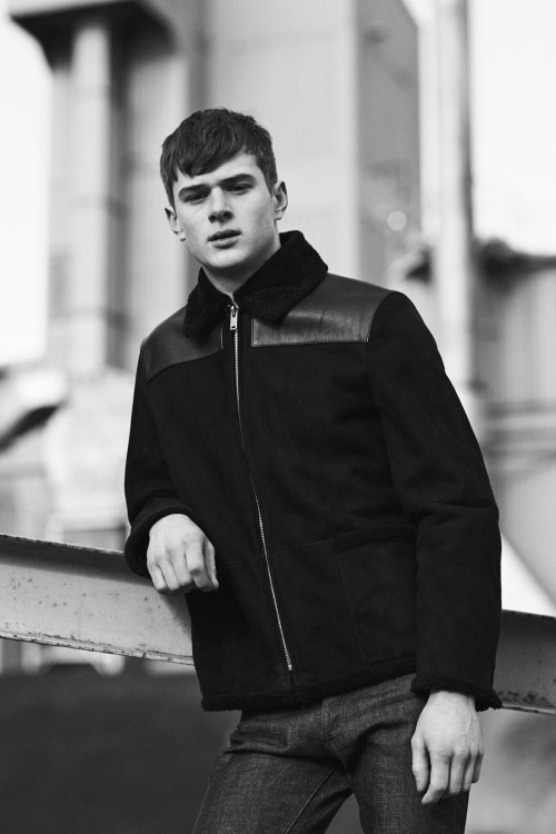 Louis W. for A.P.C. 2014 Fall Collection