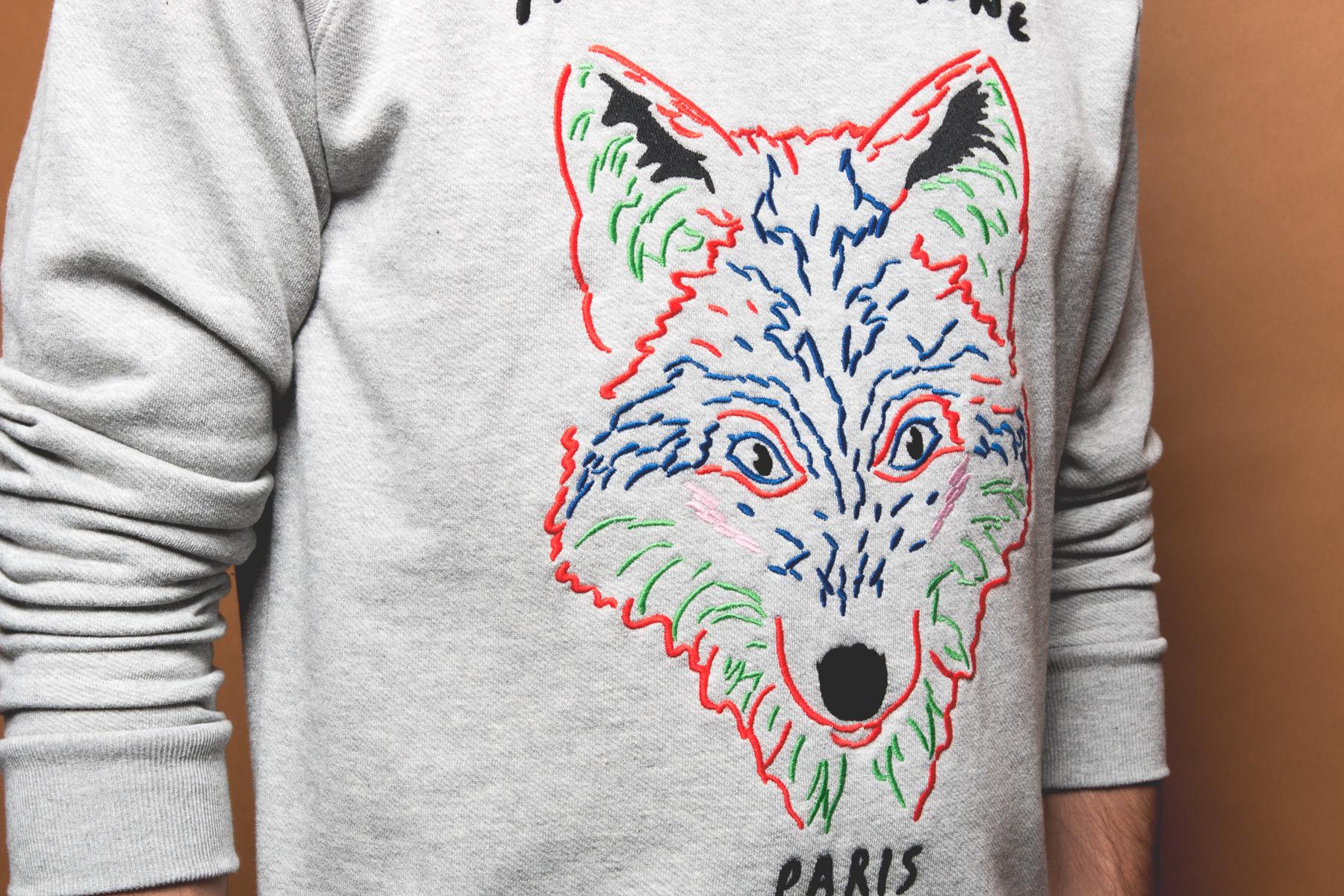 Maison Kitsuné 2014 Fall/Winter Fox Sweaters