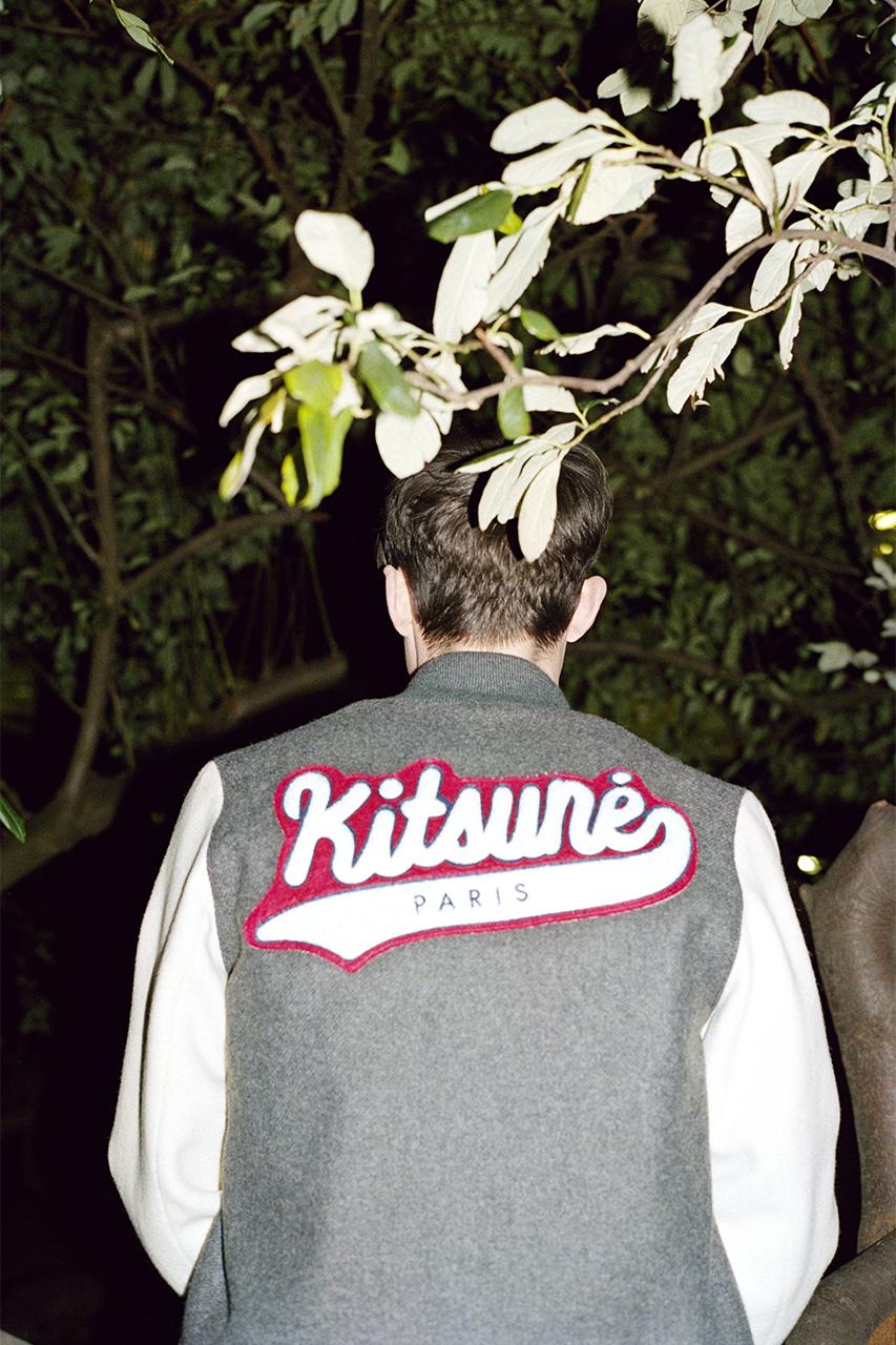 maison kitsune 2014 fall winter london beats lookbook