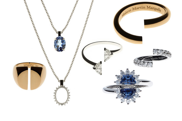 maison martin margiela heritage jewelry collection