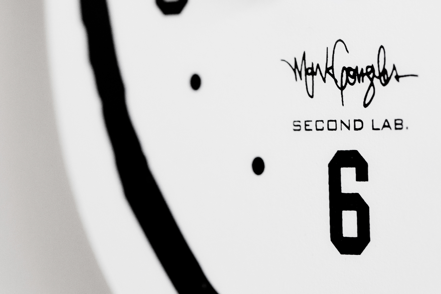 "Mark Gonzales x SECOND LAB ""Gonz"" Clocks"