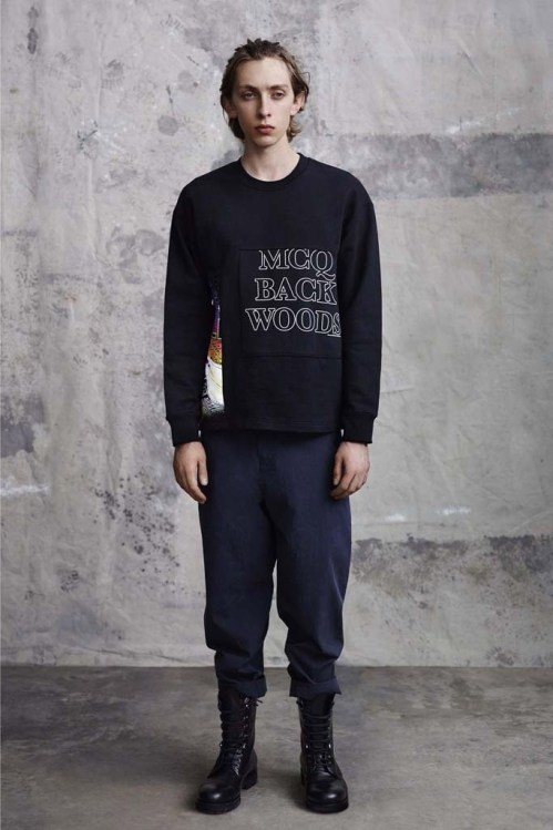 McQ by Alexander McQueen 2015 Spring/Summer Lookbook