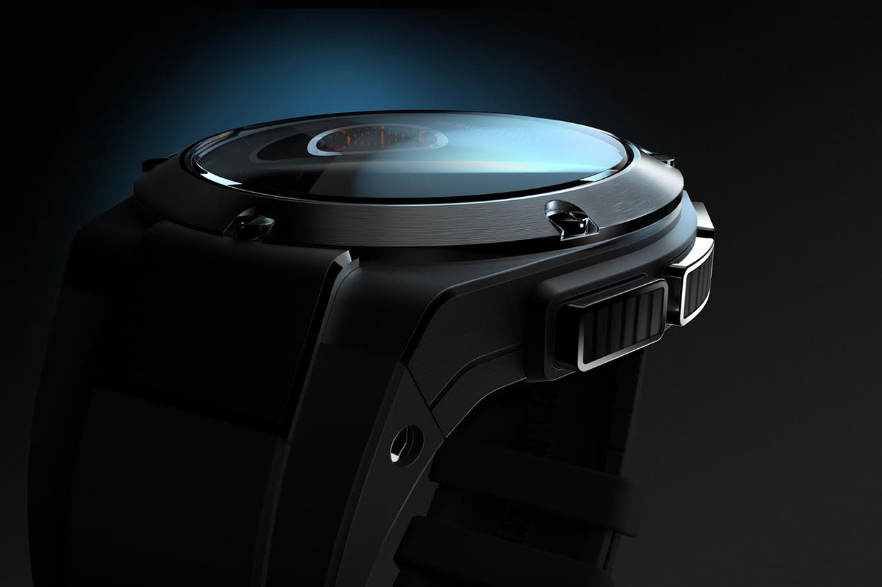 michael bastian x hewlett packard smartwatch to debut this fall