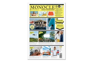 "Monocle 2015 Summer ""Mediterraneo"" Newspaper"