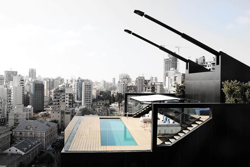 N.B.K. Residence 2 by Bernard Khoury