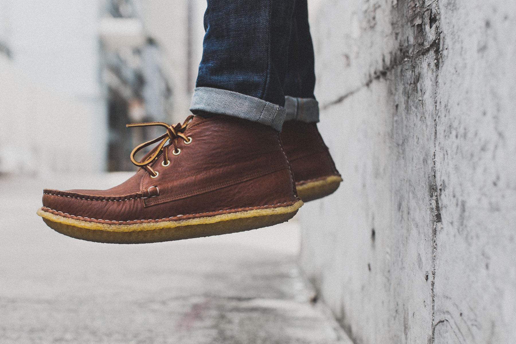 "New England Outerwear Quarter Boot Crepe ""Tan Acadia"""
