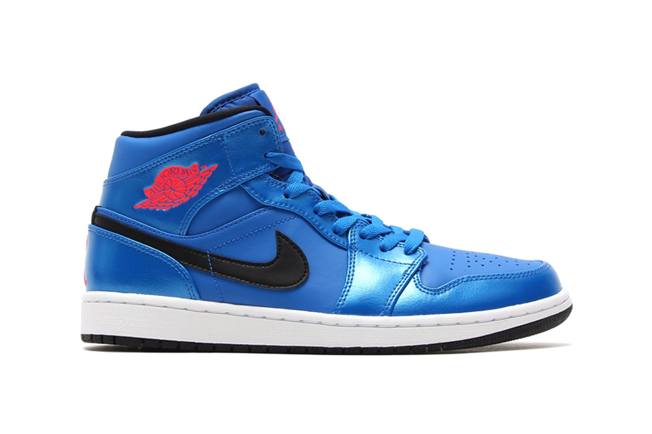 Air Jordan 1 Mid Sport Blue/Infrared 23