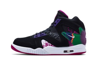 Nike Air Tech Challenge Hybrid Black/Rave Pink-Varsity Purple-White