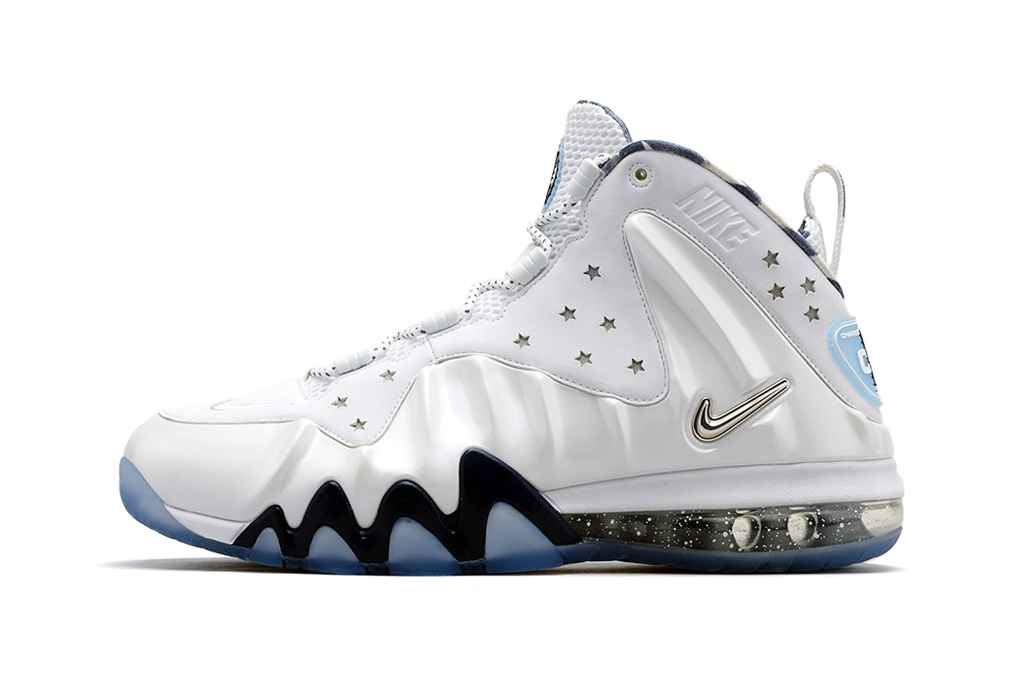 Nike Barkley Posite Max White/Metallic Silver